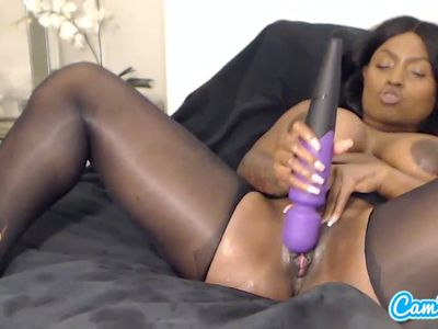 Hot chick giving a blowjob